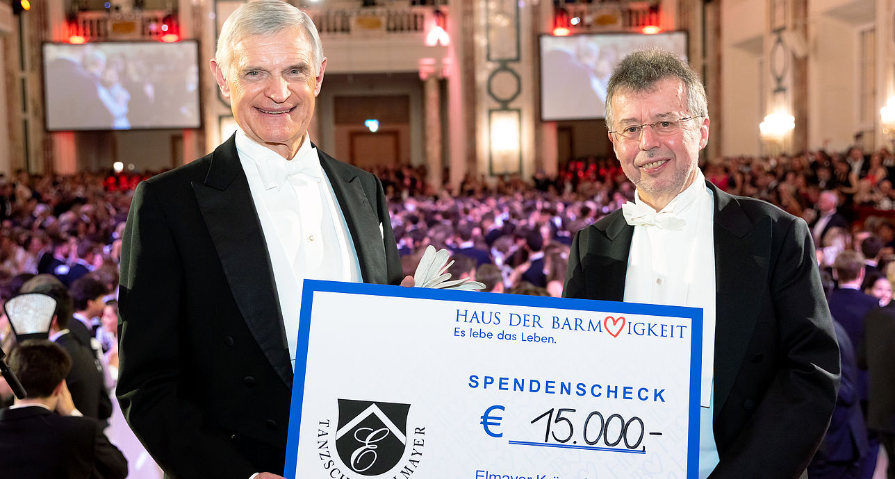Elmayer spendet 30.000 Euro an Haus der Barmherzigkeit und Plant-for-the-Planet